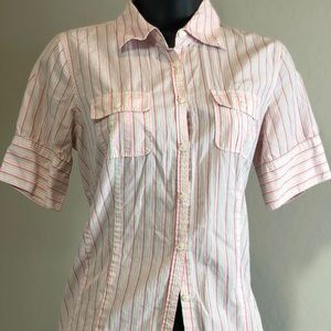 Nautica Button-Down Blouse Size 4